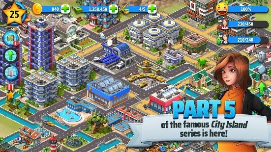Screenshot City Island 5 - Tycoon Building Simulation Offline