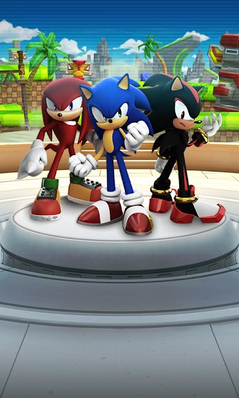 Download Sonic Forces MOD Unlocked 2162 APK for Android
