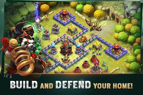 Screenshot Clash of Lords 2: Guild Castle
