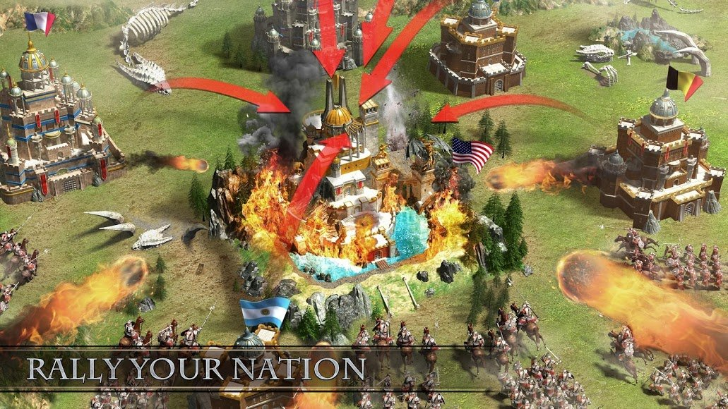 Download Rise of Empire [MOD Money] 1 250 124 APK + Data for