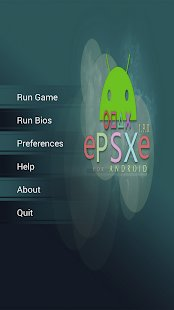Screenshot ePSXe for Android