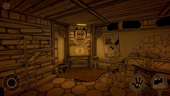 Screenshot Bendy and the Ink Machine