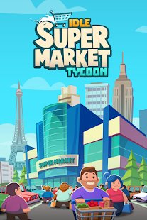 Screenshot Idle Supermarket Tycoon - Shop