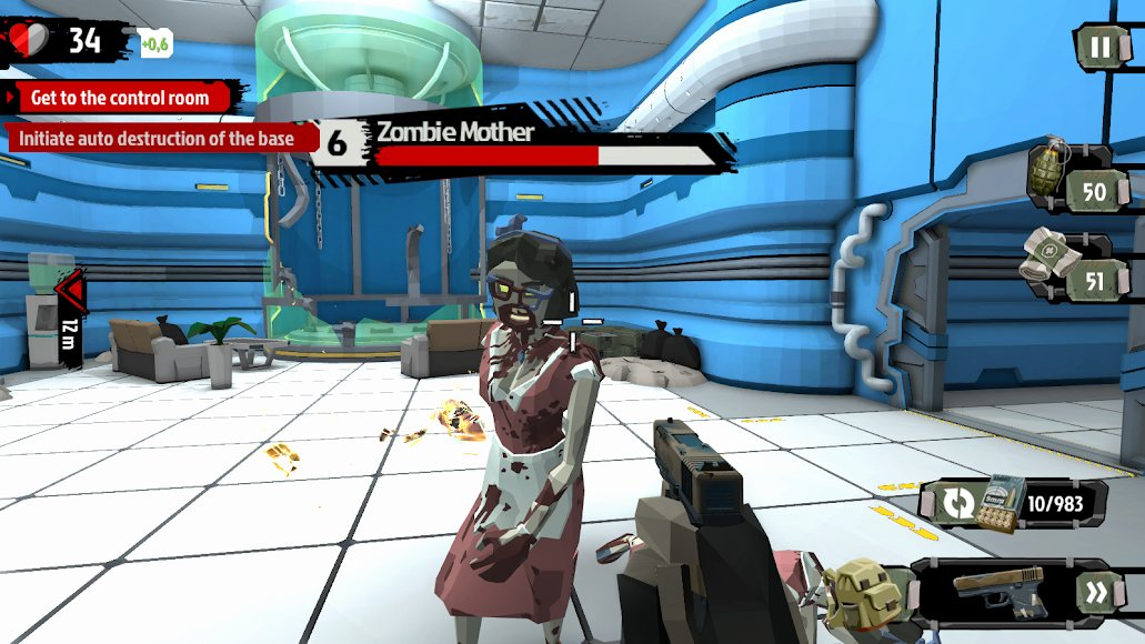 Download The Walking Zombie 2: Zombie shooter [MOD Money ...