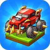 Icon Battle Car Tycoon: Idle Merge Arena