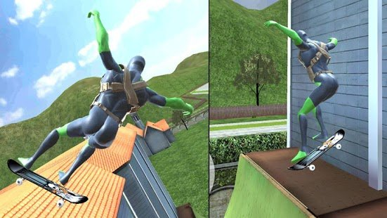 Screenshot Rope Frog Ninja Hero