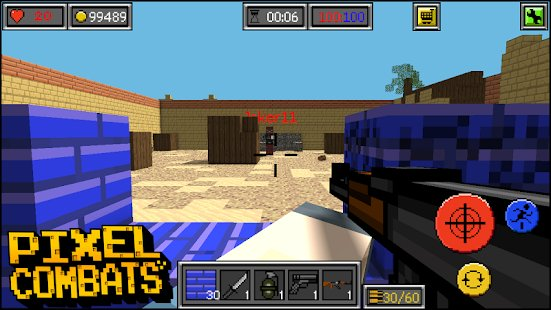 Screenshot Pixel Combats