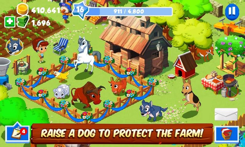 Download Green Farm 3 [MOD Money] 4 3 4 APK for Android