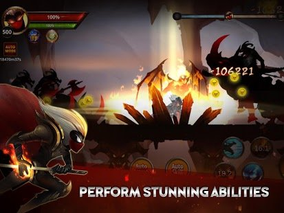 Screenshot Stickman Legends: Shadow Wars