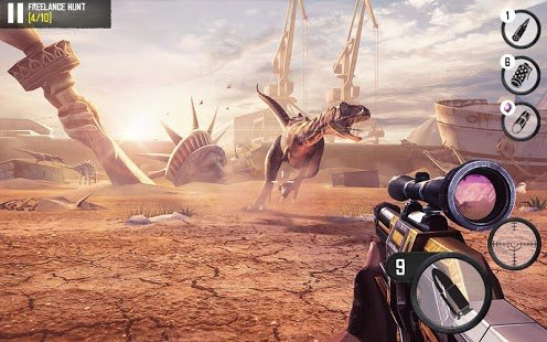 Screenshot Best Sniper Legacy: Dino Hunt & Shooter 3D