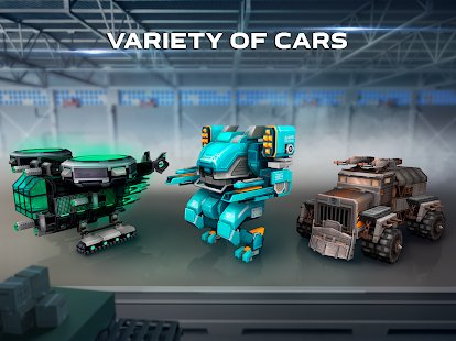 Screenshot Blocky Cars - Online
