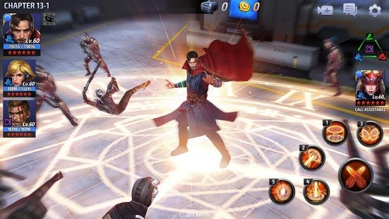 Screenshot MARVEL Future Fight