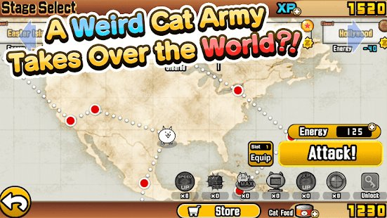 Screenshot The Battle Cats