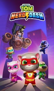 Screenshot Talking Tom Hero Dash