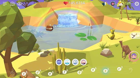 Screenshot My Oasis - Tap Sky Island