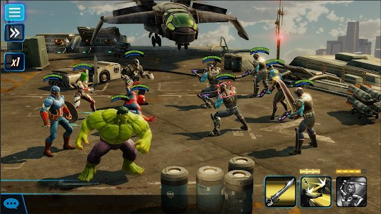 Screenshot MARVEL Strike Force