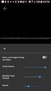 Screenshot Voloco: Auto Voice Tune + Harmony