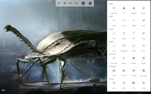 Screenshot Infinite Painter