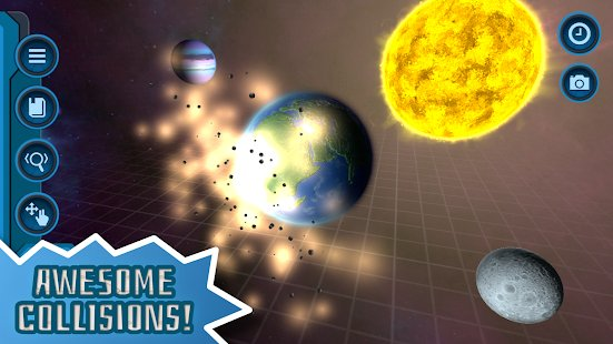 Screenshot My Pocket Galaxy - 3D Gravity Sandbox