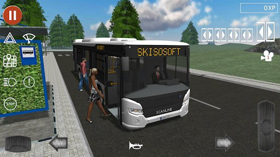 Screenshot Public Transport Simulator