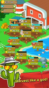 Screenshot Farm and Click - Idle Farming Clicker PRO