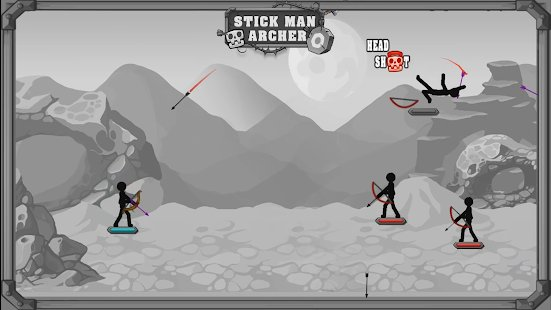 Screenshot Mr. Archer : King Stickman