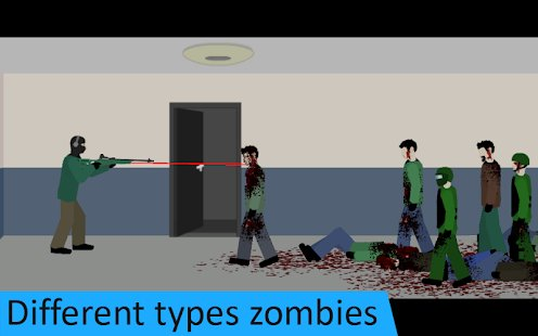 Screenshot Flat Zombies: Defense & Cleanup