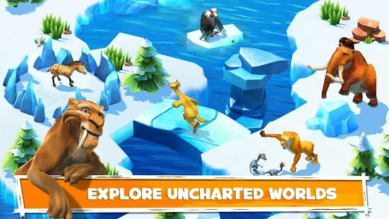 Screenshot Ice Age Adventures
