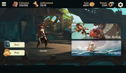 Screenshot Pirates Outlaws