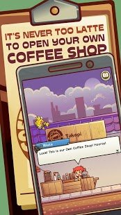 Screenshot Own Coffee Shop: Idle Game