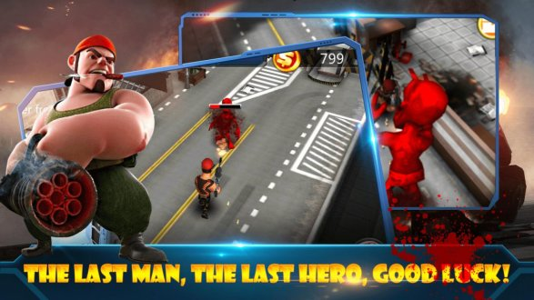 Screenshot Zombie Street Battle