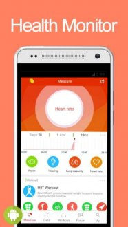 Screenshot iCare Health Monitor