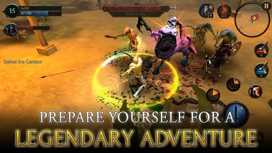 Screenshot Arcane Quest Legends
