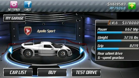 Screenshot Drag Racing Classic