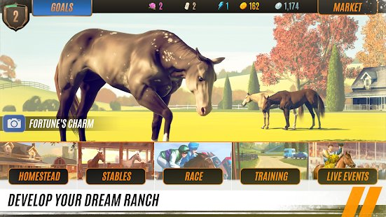 Screenshot Rival Stars Horse Racing