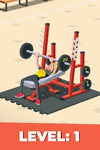 Screenshot Idle Fitness Gym Tycoon - Workout Simulator Game