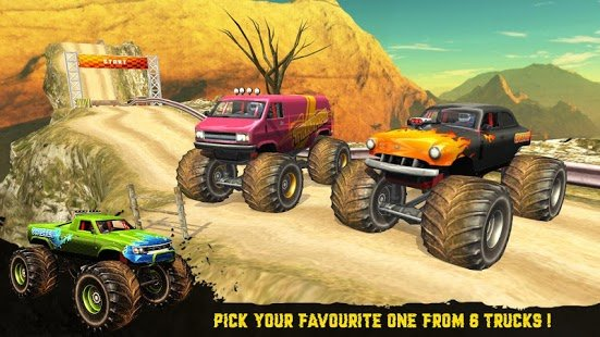 Screenshot 4X4 OffRoad Racer - Racing Games