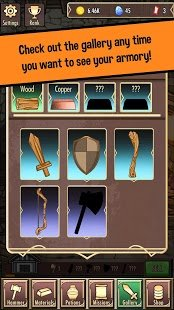 Screenshot Medieval Clicker Blacksmith - Best Idle Tap Games