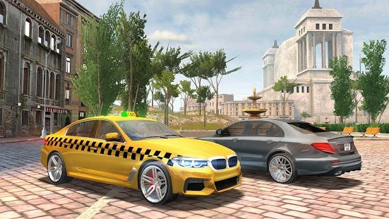 Screenshot Taxi Sim 2020