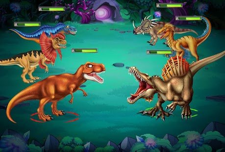 Screenshot Dino Battle