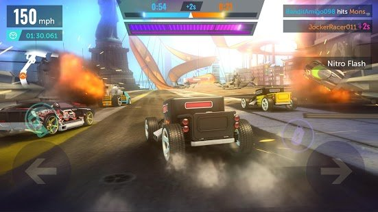 Screenshot Hot Wheels Infinite Loop