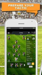 Screenshot Goal Football Manager