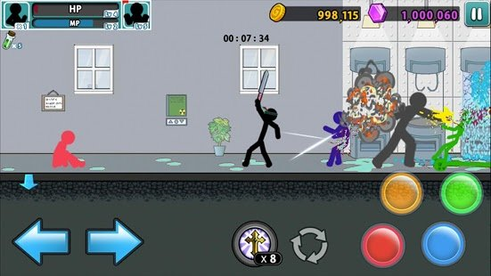 Screenshot Anger of stick 5: Zombie