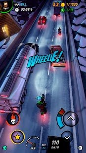 Screenshot Moto Racing 2: Burning Asphalt