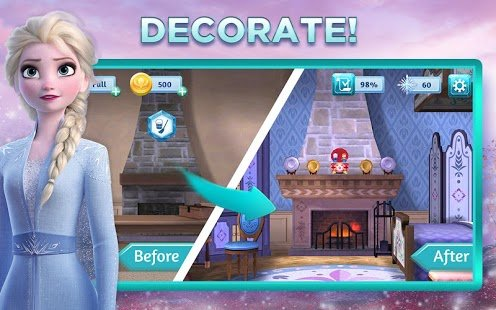 Screenshot Disney Frozen Adventures: Customize the Kingdom