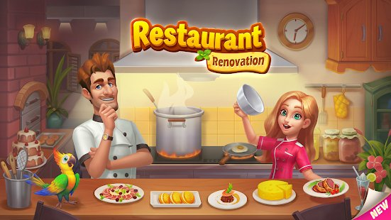 Screenshot Restaurant Renovation