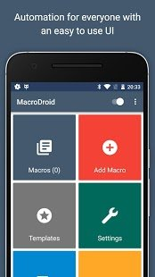 Screenshot MacroDroid - Device Automation