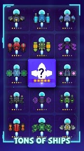 Screenshot Virus War - Space Shooting Game