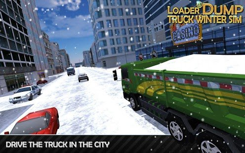 Screenshot Loader & Dump Truck Winter SIM