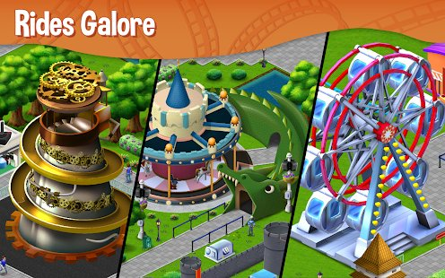 Screenshot RollerCoaster Tycoon® Story